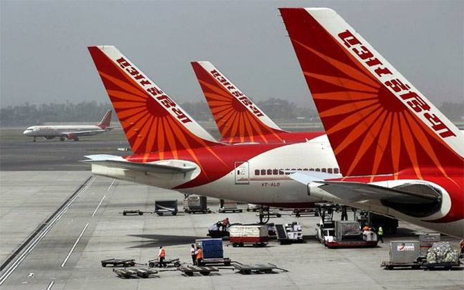 Govt issues LoI to Tatas for sale of Air India
