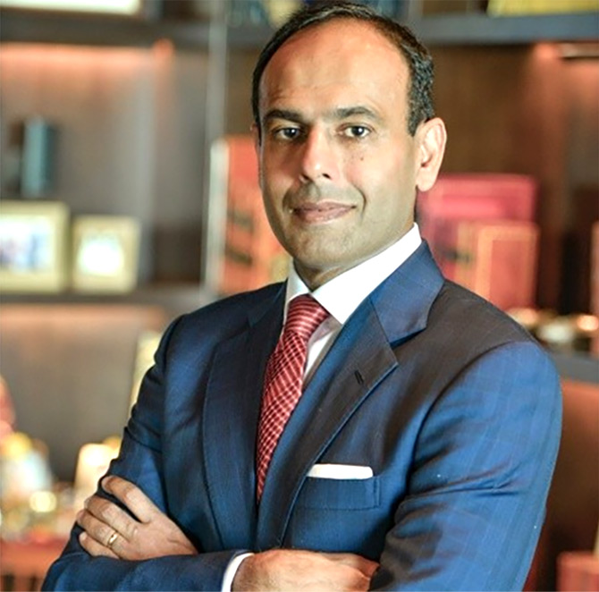 Navjit Ahluwalia, country head, Hilton India. Photograph: Courtesy LinkedIn.