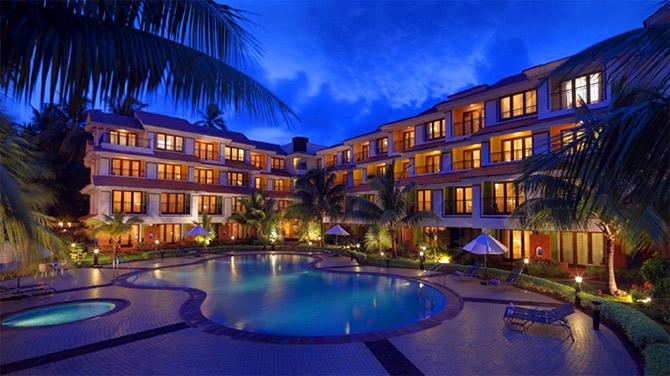 Doubletree Hilton Hotel Goa Photograph Courtesy Www