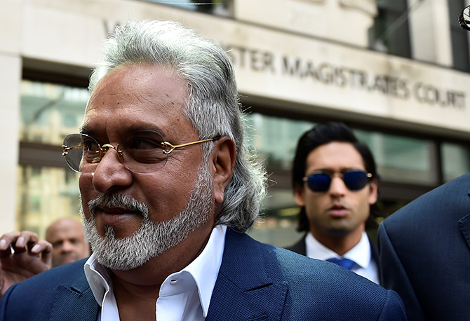 Mallya back in UK court to fight his extradition