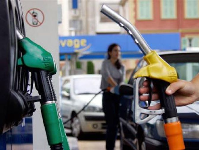 Price of petrol cut by 18 paise, diesel by 17 paise
