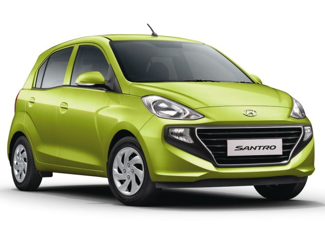 With new model, Hyundai Santro finally gets to be cool