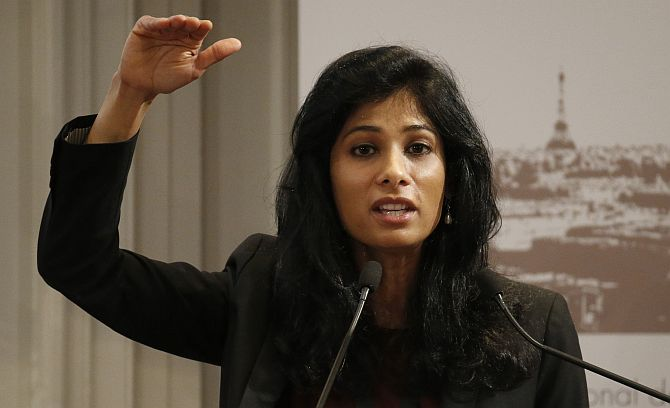 IMF's Gita Gopinath has a bit of advice for Modi govt