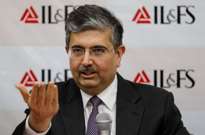 Why is Uday Kotak being singled out for his bank's success?