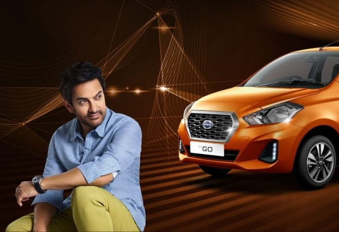 Nissan Motor India has signed up Aamir Khan for its new Datsun Go and Go+