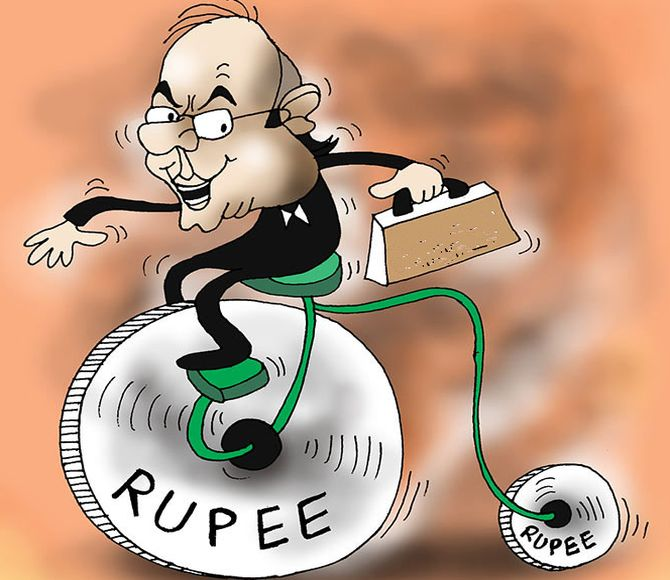 For the time being, the rupee takes the centrestage