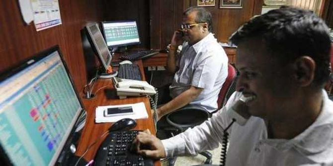 Sensex surges 373 points on macro data, rupee recovery