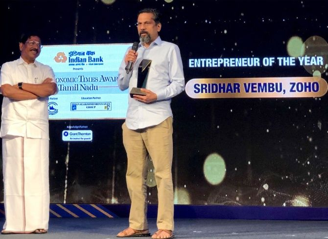 An Interview With Zoho CEO, Dr Sridhar Vembu
