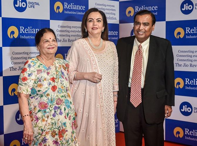 RIL is net-debt free after fund raising: Mukesh Ambani