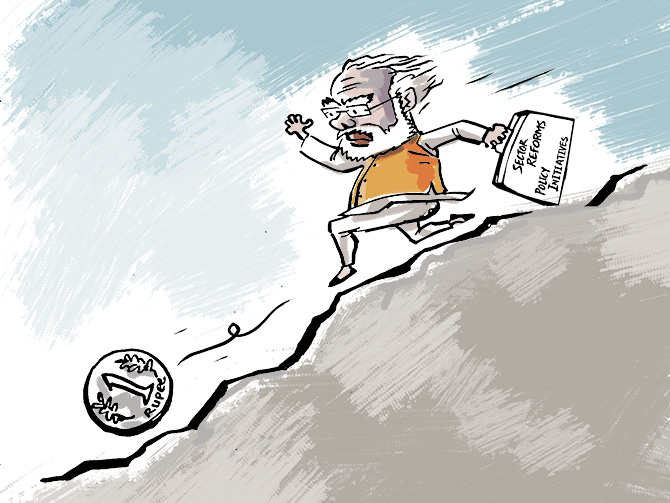 Why Modi flunks the economic reforms test