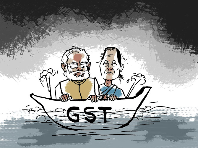No plan to hike GST rates to boost economy