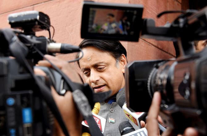Tharoor's House panel on I-T meets cyber experts