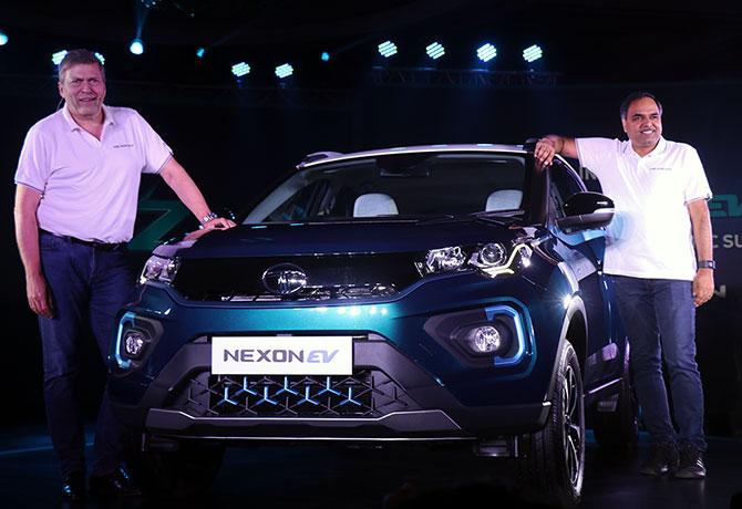 Tata Nexon EV Unveiled