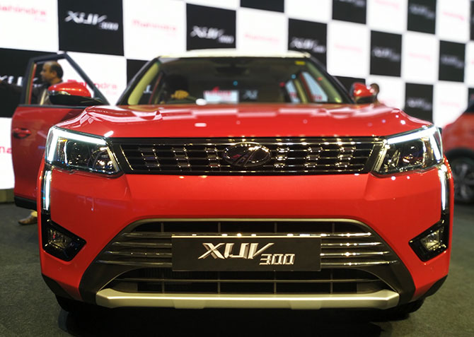 XUV300 front