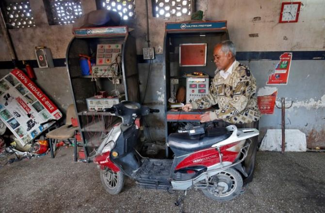 Bumpy ride ahead for electric two-wheelers