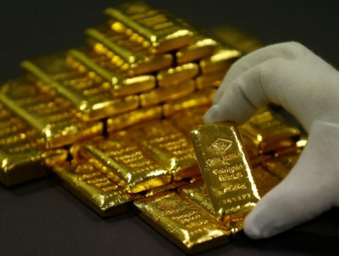 Gold imports rise 54% to $ 3.97 billion in April