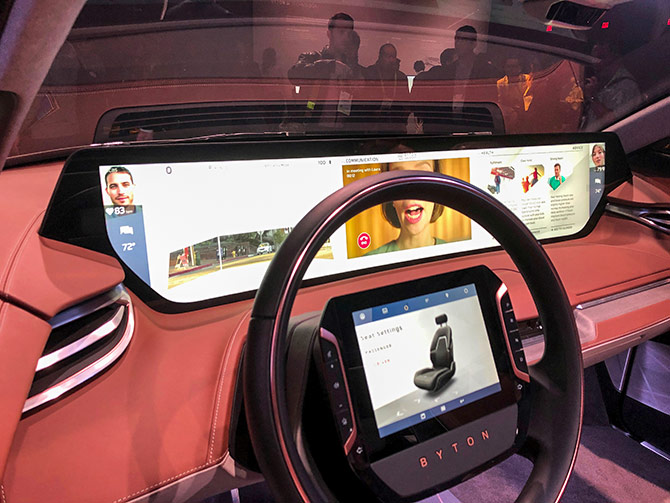 Ces 2019 Transports You To The Future Rediff Com Business