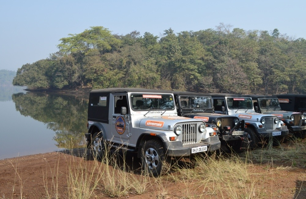 Off-roading with Mahindra Thar