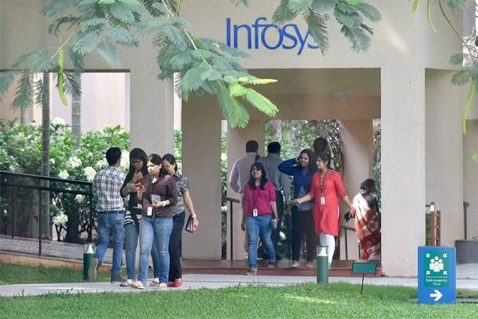 Infosys Q3 net up 23.7% at Rs 4466 crore