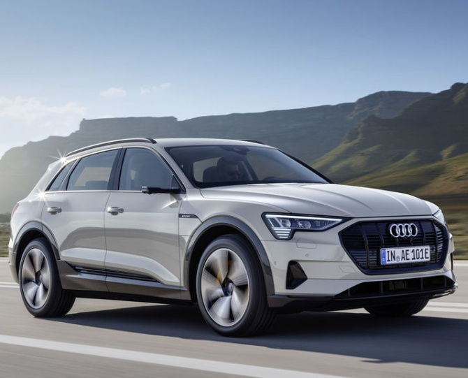 Audi's all-electric SUV e-tron to drive into India