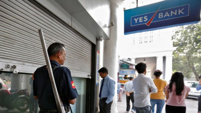 Yes Bank to be dropped from Nifty 50 from Mar 27