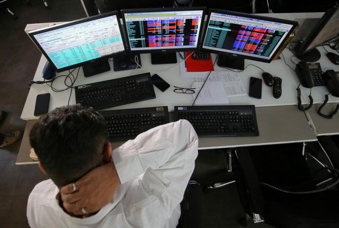 Sensex ends 76 points lower; Nifty below 12K
