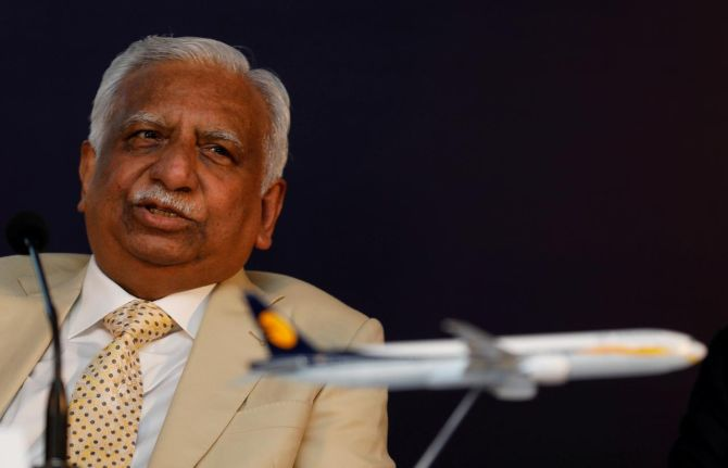 Ex-Jet chairman stopped at Mumbai from flying abroad