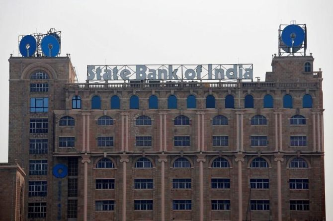SBI was one of the top losers
