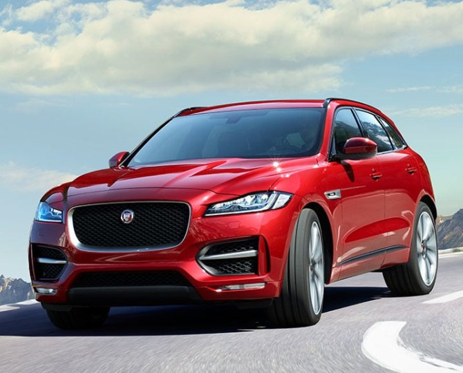 Cat on the prowl: Jaguar enters SUV space with F-Pace