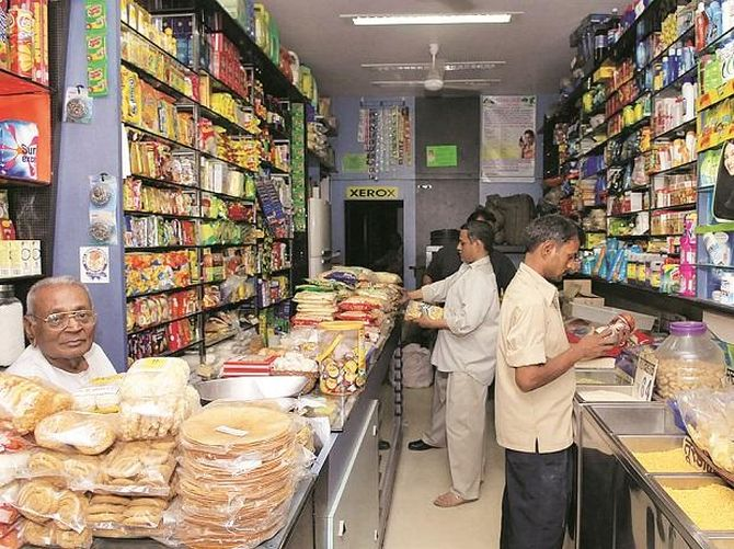 What if kirana shops run out of stock?