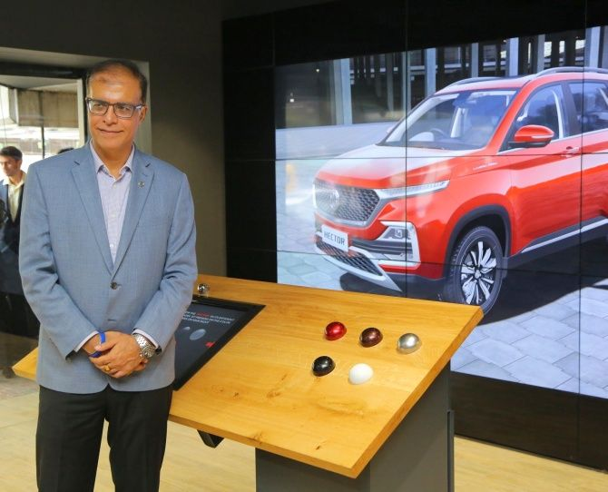 Rajeev Chaba, president and managing director, MG Motor India