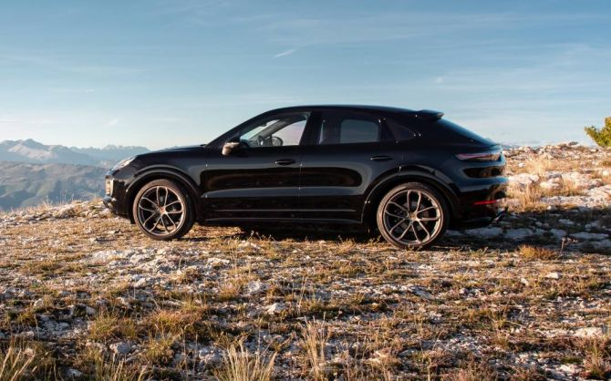 Overall Porsche Cayenne Coupe Is A Great Package Rediff Com Business