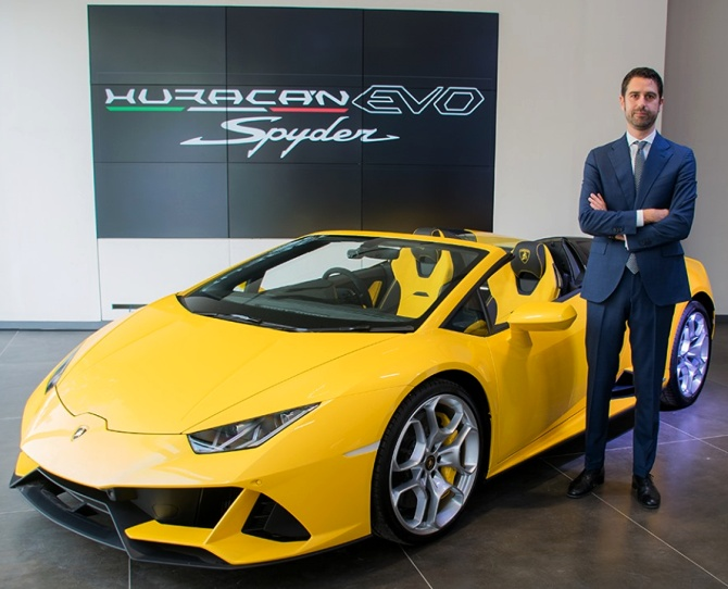 Auto slowdown? There's no halting Lamborghini