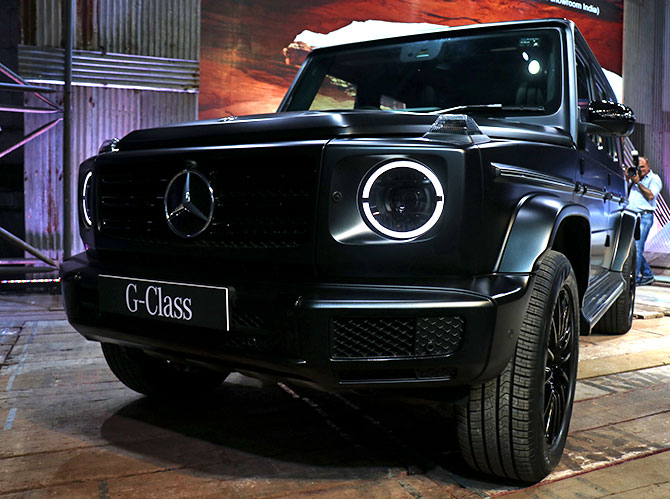 The Mercedes-Benz G 350d