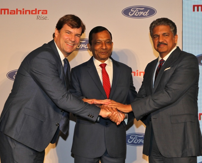 Mahindra eyes exports in 3rd deal with foreign partner