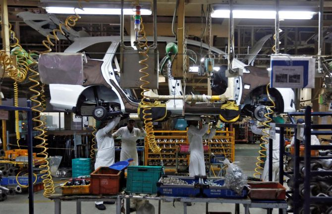 Auto woes: Manesar hopes for revival in festive season