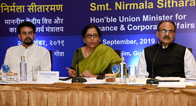 India Inc bowled over by Sitharaman's 'new deal'