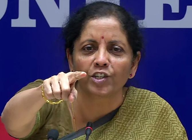 Did Sitharaman overrule bankers on loan 'mela'?