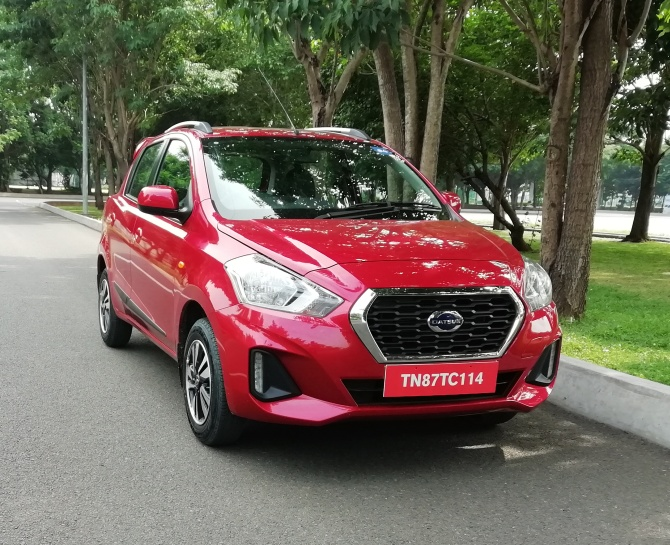 Datsun GO and GO+ look upmarket & feel premium inside