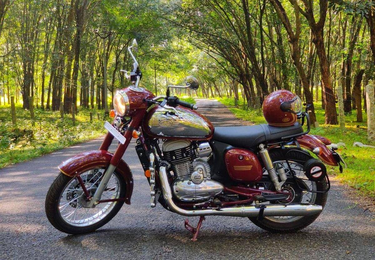 How the Jawa bike was driven back to Czech homeland