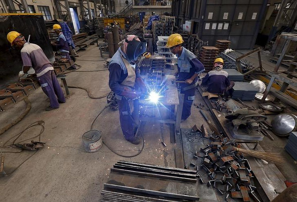Industrial production in positive zone after 2 months