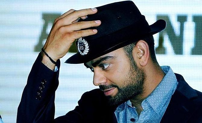 Kohli is top celebrity brand for third time in a row