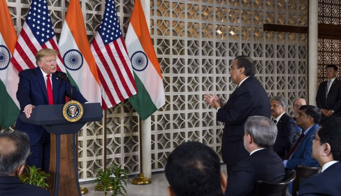 Trump, India Inc talk ease of doing business -- in US