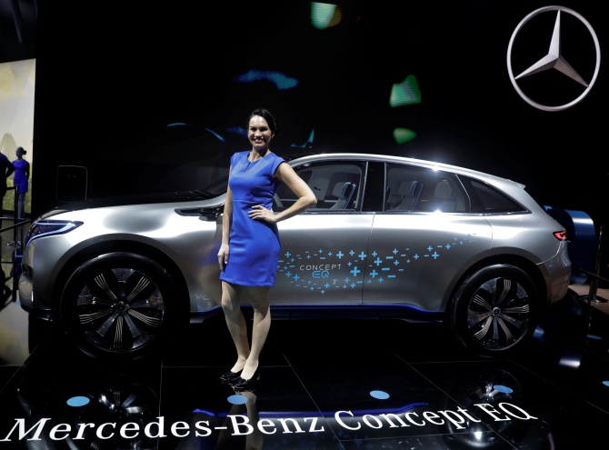 Mercedes takes EQ route to win EV battle in India