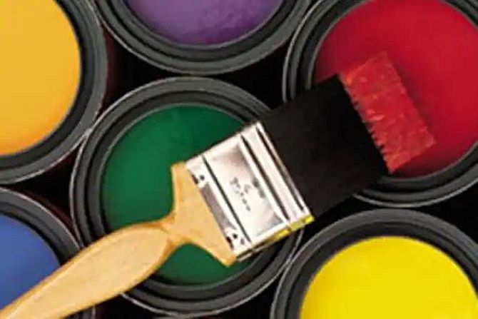 Asian Paints was among the losers