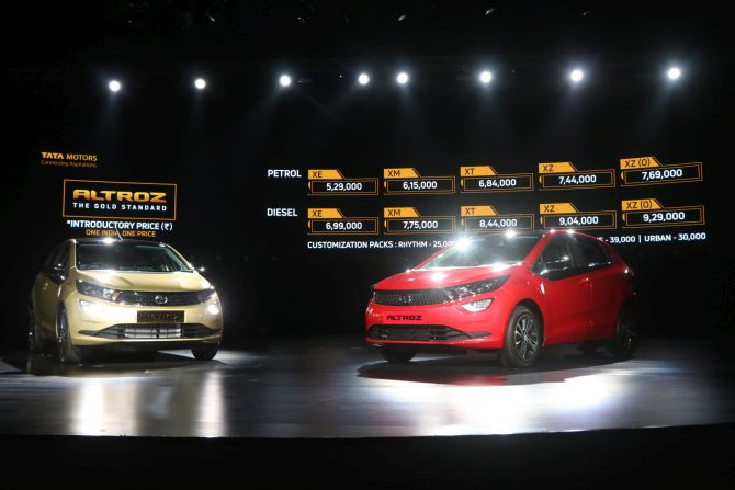 With Altroz, Tatas enter premium hatchback segment