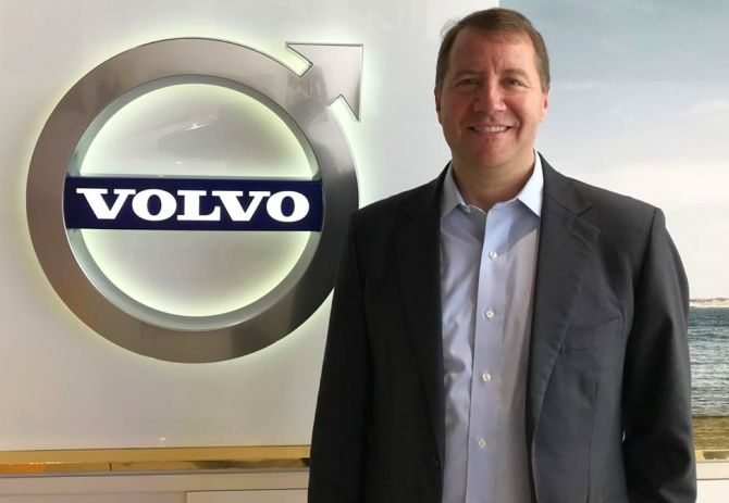 Charles Frump, Volvo Car India