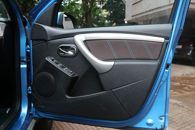The door panel of the Duster 2020