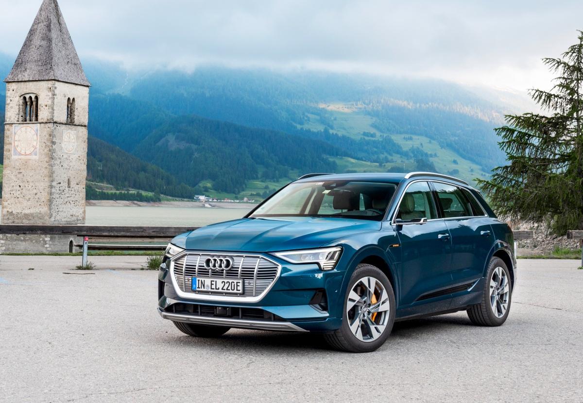Audi's electric SUV -- no gear, no sound, no engine!