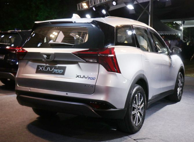 XUV700 rear